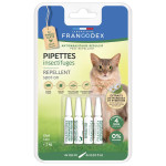 PIPETTES INSECTIFUGES REPULSIVES X4