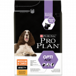 PRO PLAN Medium & Large Adult 7+ avec OPTIAGE Riche en Poulet - 3 KG