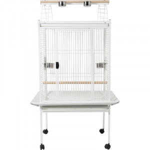 Cage KUBEO XL 96 cm blanche